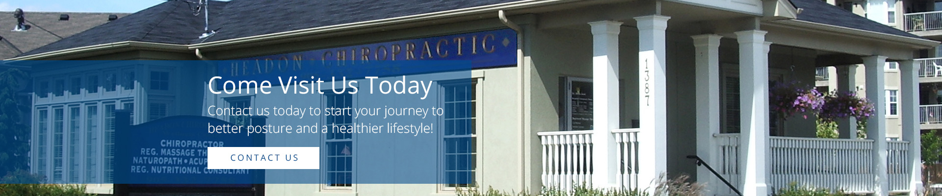 Headon Chiropractic Contact